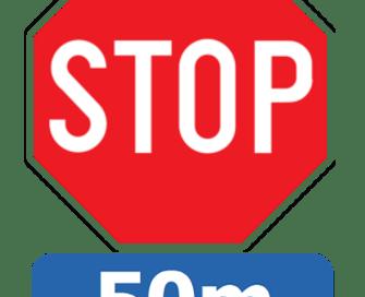 Stop met 50